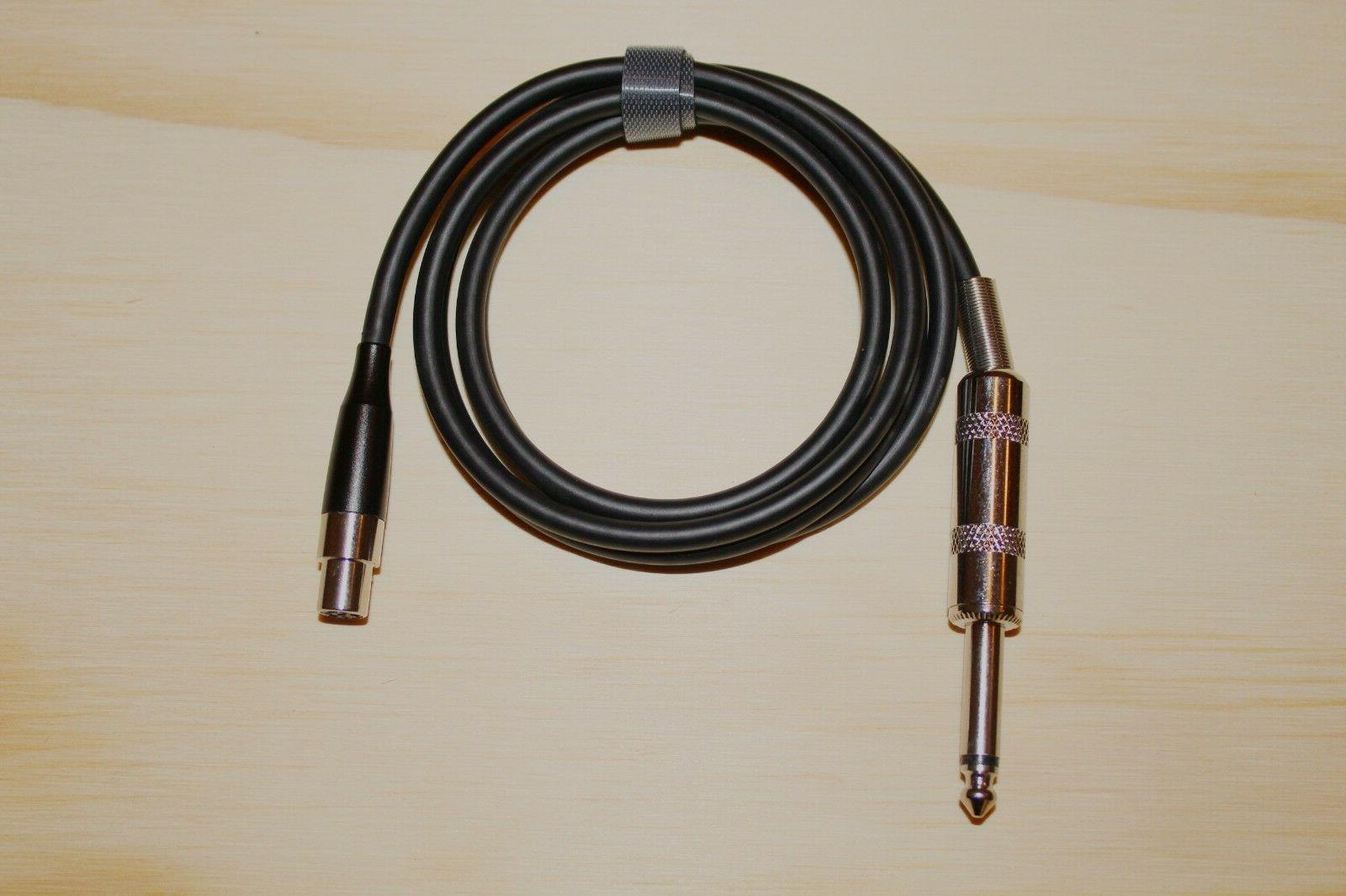 guitar cable ta4f 4 pin mini xlr