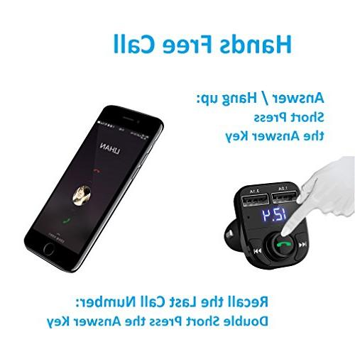 Handsfree Call Bluetooth Receiver&Mp3 Music USB for
