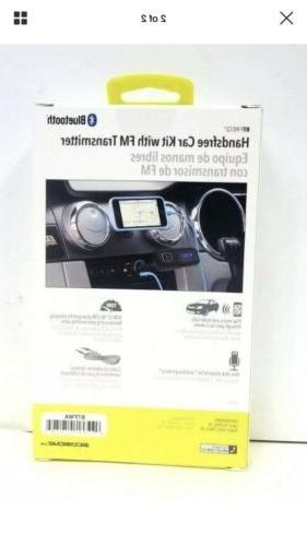 Handsfree Car Kit with FM Scosche Bluetooth - Shipping