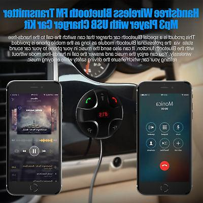 Handsfree Wireless Radio Kit Mp3 Player