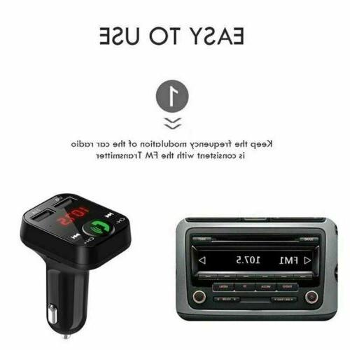 In Transmitter Radio Wireless Adapter Kit USB Charger