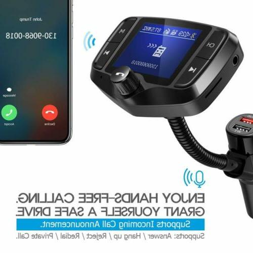 Nulaxy FM Transmitter for Screen Audio