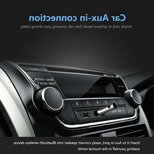 RIVERSONG Bluetooth Wireless Adapter Car Kits Jack for Stereo System
