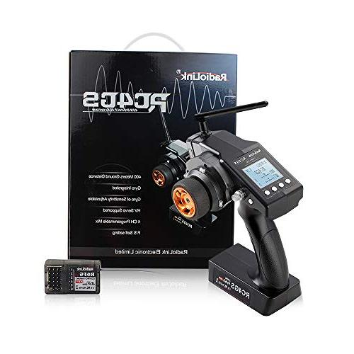Radiolink RC4GS 4CH RC Transmitter and R6FG Radio Controller for