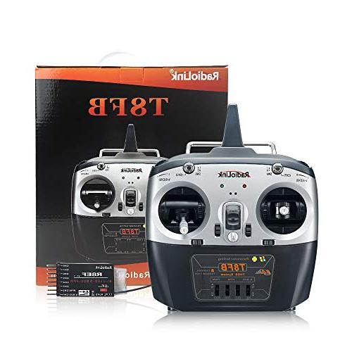 Radiolink T8FB Transmitter R8EF 2.4GHz Radio for Racing and More