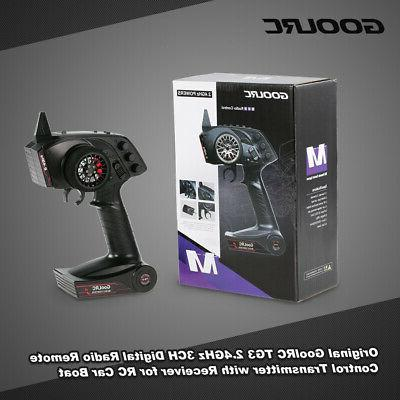 GoolRC TG3 2.4GHz 3CH Transmitter With Receiver For RC Car B