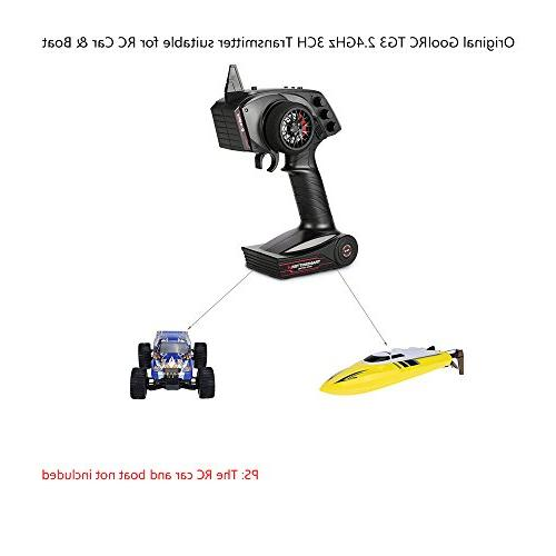 GoolRC 2.4G Radio with Receiver Car Boat