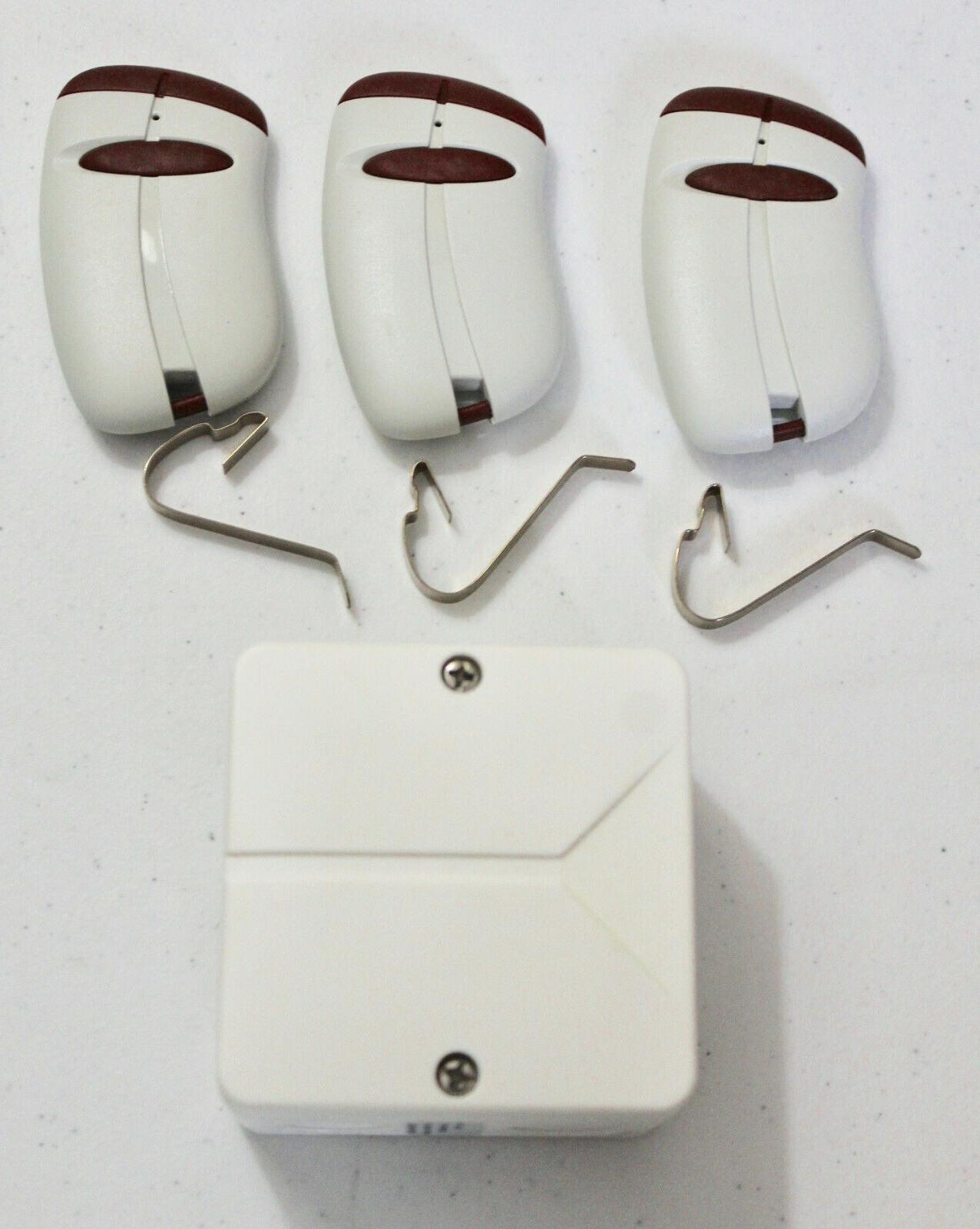 three 433tspw1v transmitters and one weatherproof receiver