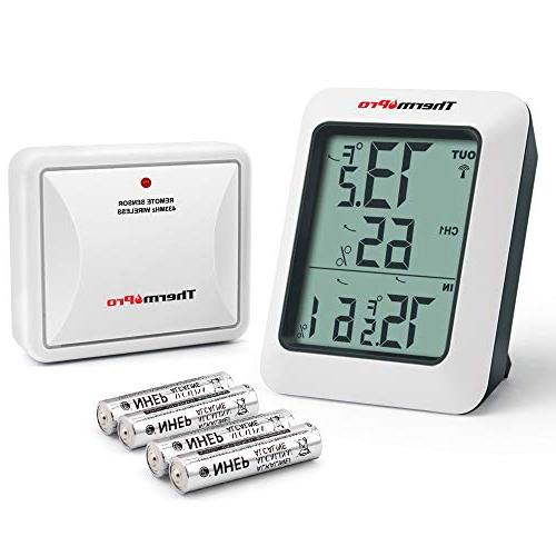 tp60 indoor thermometer humidity monitor