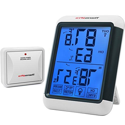 tp65 wireless hygrometer indoor thermometer
