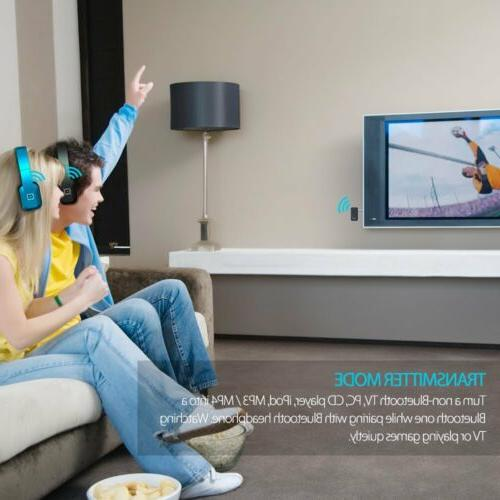 hdtv wireless headphones kit with bluetooth audio
