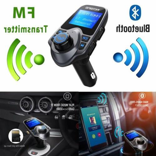 US T11 Bluetooth FM Radio Adapter Car Receiver New