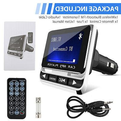 Transmitter with USB Charger Hands-Free inch