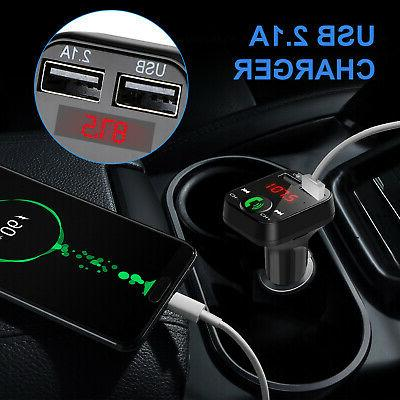 Bluetooth Car Kit FM Adapter Stereo MP3 Player