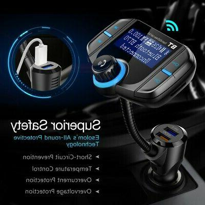 Wireless Car Radio Adapter MP3 Charger