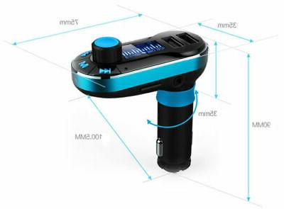 Wireless Bluetooth Transmitter MP3 Charger for