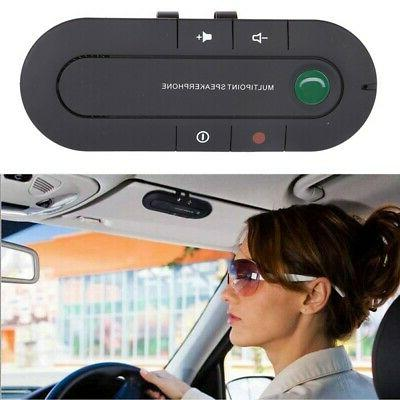 wireless bluetooth hands free car kit speakerphone