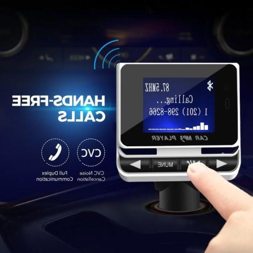 Wireless Bluetooth Transmitter with USB Hands-Free