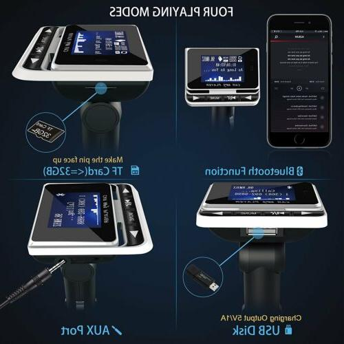 Wireless Car Transmitter Charger