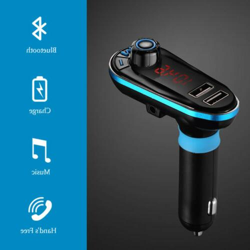 Wireless Car Transmitter MP3 Player Adapter Kit LCD Remote