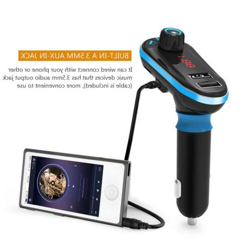Wireless Car MP3 Kit Charger Remote