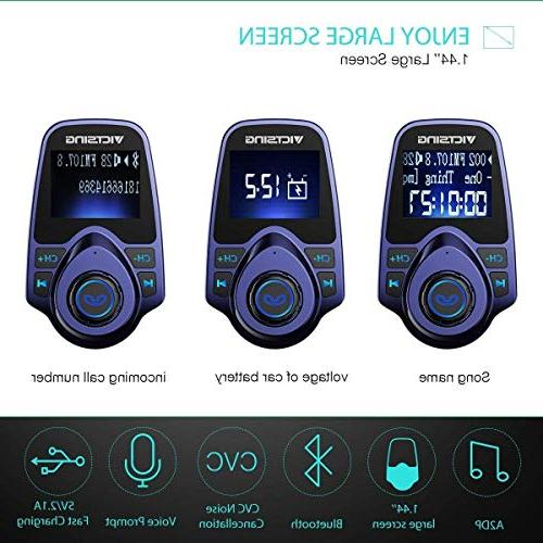 Radio Supports USB Car Charger with 1.44 Inch