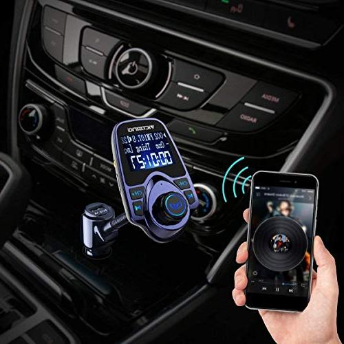 VicTsing Wireless Transmitter Radio Supports Micro SD USB
