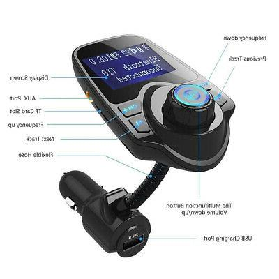 Wireless Transmitter MP3 Car Charger