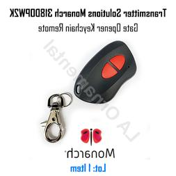 Transmitter Solutions Monarch 318DOPW2K Gate Opener Keychain