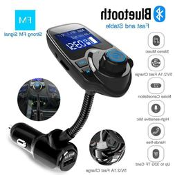 Nulaxy 1.44 LCD Wireless Bluetooth FM Transmitter In-Car Rad