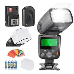 Neewer PRO NW670 E-TTL Photo Flash Kit for CANON Rebel T5i T
