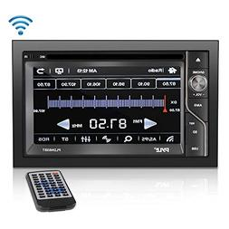 Upgraded Pyle Double Din Touchscreen | DVD CD Player | Bluet