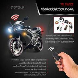 Pyle Upgraded WatchDog Motorcycle  Alarm - Anti Theft Securi