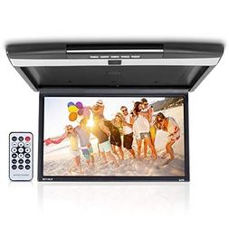Car Overhead Monitor Screen Display - 17.3 inch. LCD Vehicle