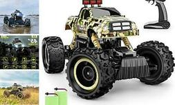 RC Car, 1:12 Monster Truck 4WD Dual Motors Rechargeable Off