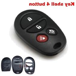 Replacement Keyless Entry Remote Shell Case and Button Pad 4