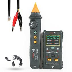 uxcell RJ11 RJ45 BNC Wire Tracker Network Cable Tester Telep