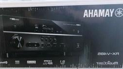 Yamaha RX-V485BL 5.1-Channel 4K Ultra HD AV Receiver with Mu