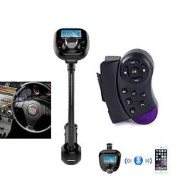 Steering Wheel Control +LCD Car Kit MP3 Bluetooth Player FM
