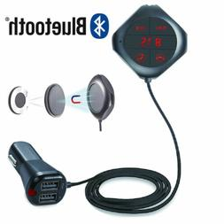 Stereo Digital Bluetooth USB Charger FM transmitter for iPho