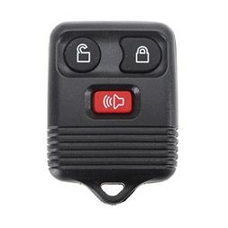 Three-Button Alarm Remote Control Keyless Entry Transmitter