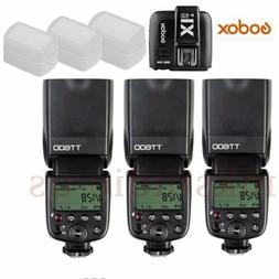 Godox TT600 2.4G Wireless Speedlite Flash + X1T-N Transmitte