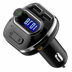 Victsing  V4.1 Bluetooth Fm Transmitter For Car, Wireless In