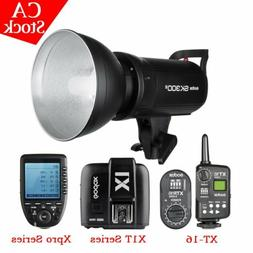 US Godox SK300II 300W 2.4G Studio Flash Strobe Light 110V +