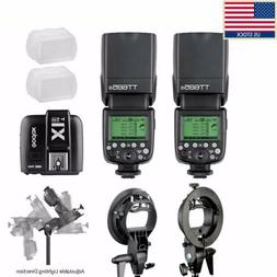 US Godox TT685S HSS TTL GN60 Flash for Sony + X1T-S Transmit
