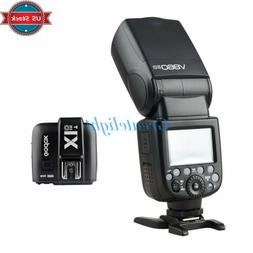 US Godox V860II-O 2.4G TTL Camera Flash Speedlite +X1T-O Tra