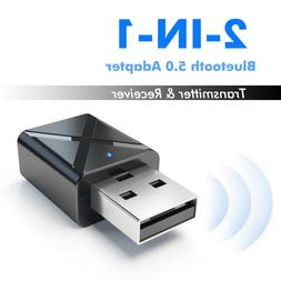 USB Bluetooth 5.0Receiver Audio Transmitter Adapter For TV/P