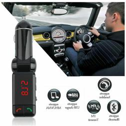USB LCD AUX-IN Audio Car Kit MP3 Player FM Transmitter Charg