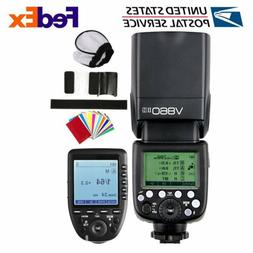 Godox V860II-S TTL 2.4G Camera Flash Speedlite Xpro-S Transm