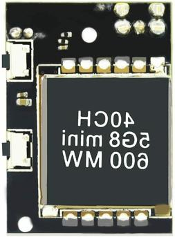 Wolfwhoop W833 5.8GHz 600mW Mini FPV Transmitter Double LED